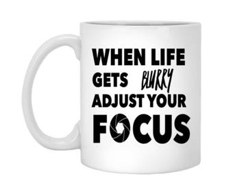 Coffee Mugs for Photographers - Photographer Gifts - 11oz Photograph Cup - Mugs for photographers - Funny Coffee Mug