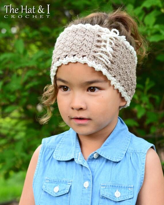 Crochet Headband Pattern Cottage Chic Head Wrap Crochet