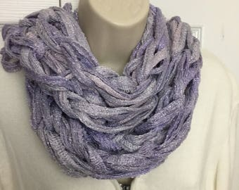Buy1give1 Lavendar Sparkle Sashay Arm Knit Extra wide