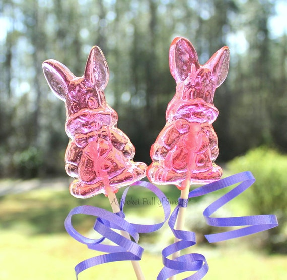 Rabbit Lollipops