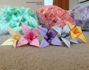 1000 Origami Flower Lillies