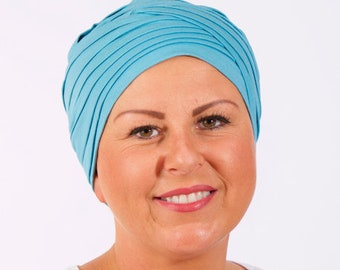 Padded Hat For Hair Loss In Bamboo, cancer hat,cancer cap, chemo hat
