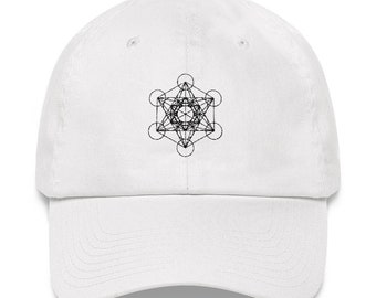Sacred Geometry Dad hat Unique Geometric Dad Hat Festival Outfit