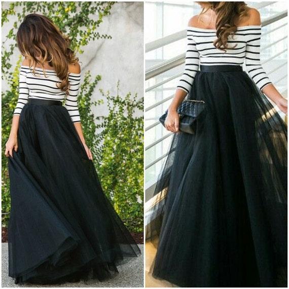 Floor Length Tulle Dress