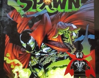 Spawn Minifig Image Comics Al Simmons Todd McFarlane Building Block Toy