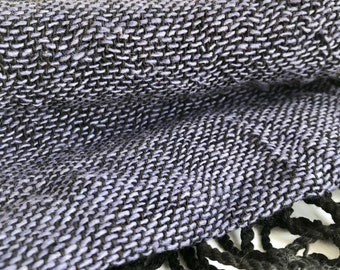 Indigo Blue Handcrafted Scarf, Scarf Bohemian Navy Blue, Neck Wear Scarf, hand loomed scarf, handwoven cotton, Free Shipping