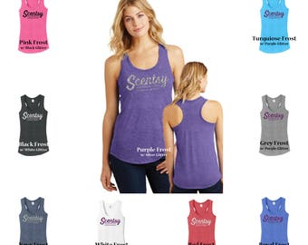 Authorized Scentsy Vendor Scentsy Glitter Womens Tank, scentsy  shirt dm138l