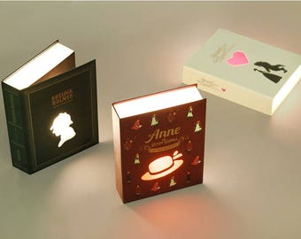 Animation Book Lamp - NEW