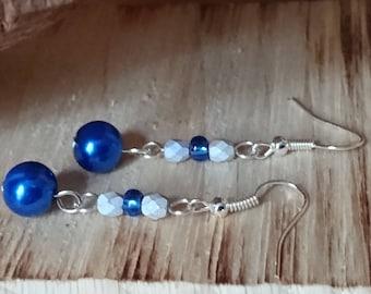 Dangle Blue Earring  #268