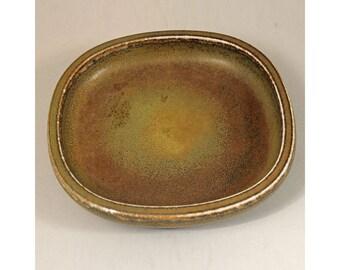 Stoneware Bowl, Nils Thorsson, Royal Copenhagen, Denmark. Scandinavian Art Pottery