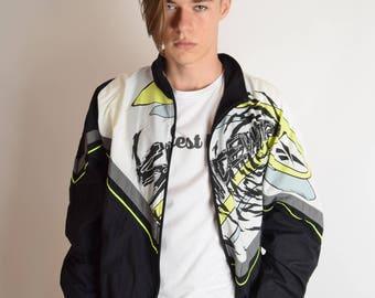 Vintage Reebok Jacket 90's Size XL (2612)