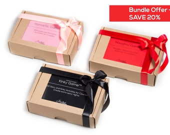 Naughty and Nice Bundle, Mother's Day gift idea, sex games, sex cards,