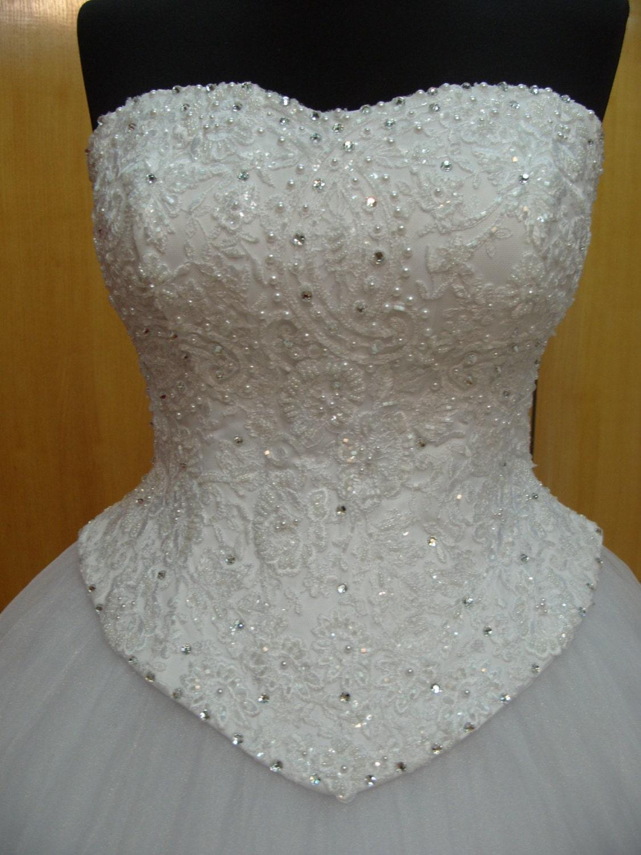 Braut Korsett Spitze Hochzeit Kleid Top Hochzeit Korsett