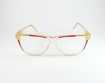 Vintage Eyeglasses, Ouverture By Lastes Cleopatra, 80s, Prescription Glasses, Gift Ideas, Transparent Glasses, Mom Gift, Reading Glasses