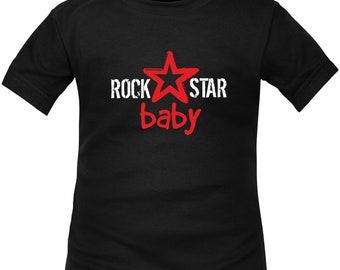Kids t-shirt ROCK: rock star baby
