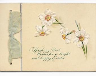 Mini Jonquils Easter Card, c. 1900