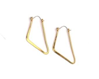Gold Fin Hoops