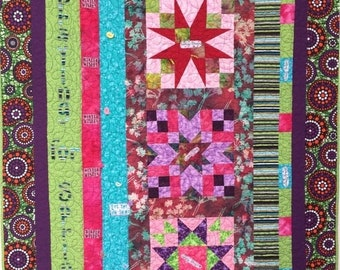 Hello Summer Sale Praying For Spring 43x56 inch art quilt