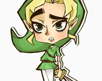 Awkward Link 10 Stickers