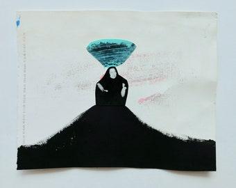 Collage, Collage Kunst, original-Artworks von Rottenman Editionen