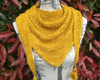 Faithful - A shawl two ways (pdf download pattern) with 2 crochet options