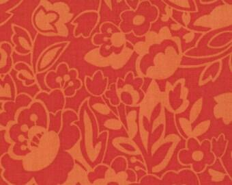 Oh My Poppy Fields in Orange, by Sanae for Moda