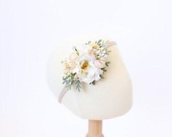 baby headband, flower crown headband baby, newborn headband, baby flower crown, floral crown baby, newborn flower headband, baby photo prop