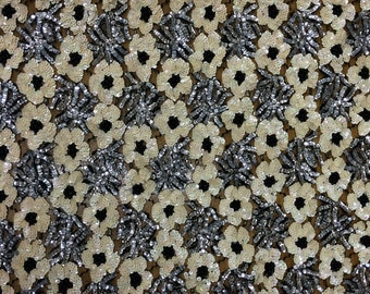 Vintage Sequin Lace