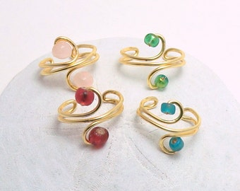 Custom Ear Cuff | Silver Ear Cuff | Gold Ear Cuff | Red Ear Cuff | Blue Ear Cuff | Green Ear Cuff | Pink Ear Cuff | Wire Ear Cuffs