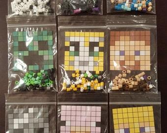 Minecraft Perler Bead DIY Kits