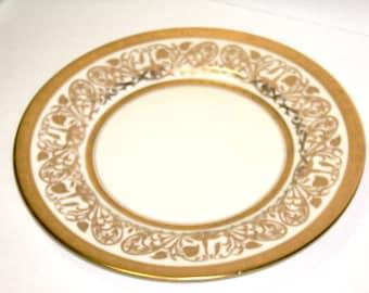 Vintage Plate, EPIAG Czechoslovakia CORONET Limoges ,Vintage Porcelain Borgfledt Company, Crown Trade Mark, Coronet Mark, Limoges Porcelain