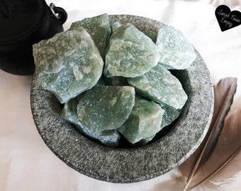 Green Aventurine Crystals   Natural Raw Green Aventurine    Healing Crystals and Stones   Chakra Crystals   Heart Chakra Crystals
