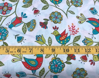 Riley Blake Dutch Treat by Betz White C5280 Cotton Fabric By the Yard