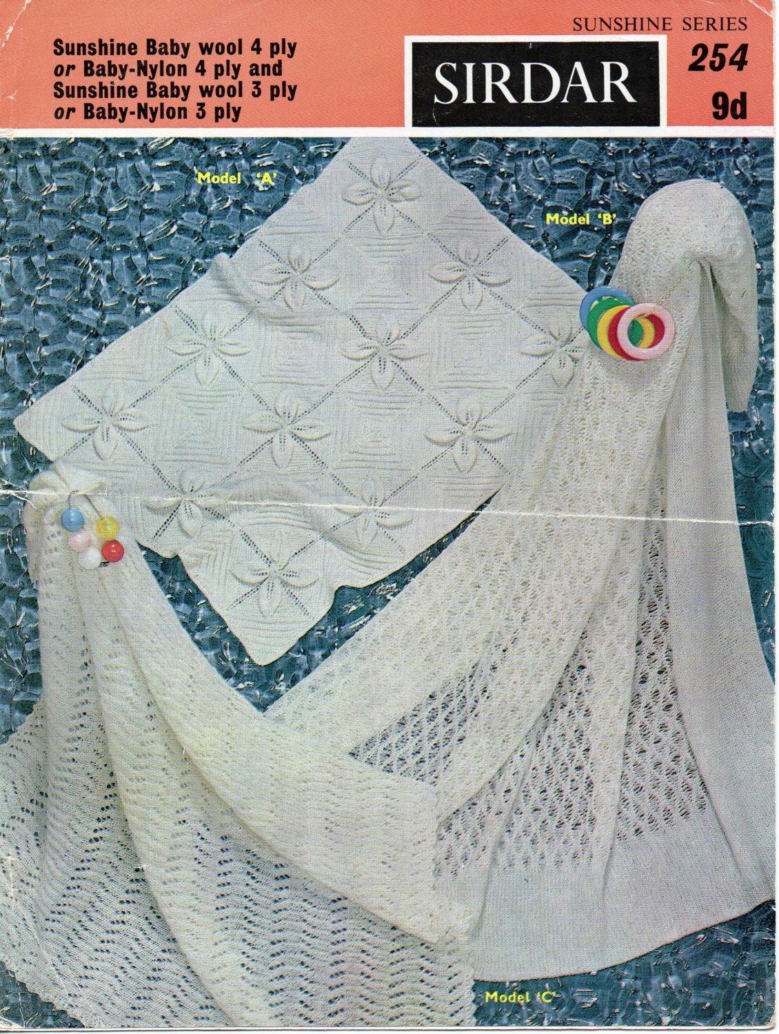 Baby Knitting Pattern pdf download Baby Shawl Pram Cover Baby Cot ...