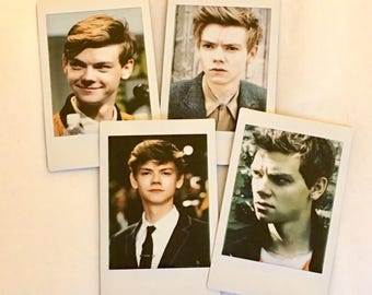 Thomas Brodie-Sangster Instax Polaroid Sets