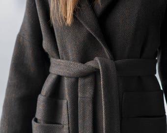 Woolen Coat Motumo 17FW1