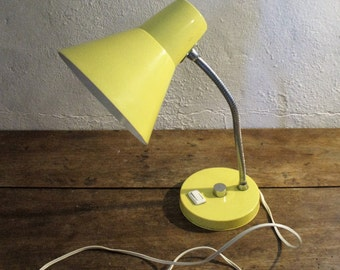 "Lamp ""Cocotte"" yellow lemon of the years 60/70"