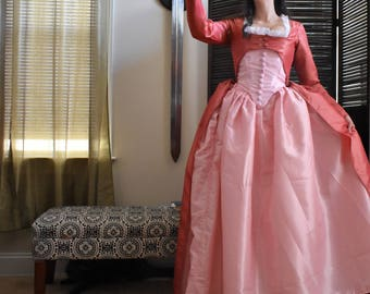 Angelica Schuyler Dress; Hamilton Costume; 18th century Costume; Eliza Schuyler Costume; Marie Antoinette Gown; Hamilton Musical; Angelica
