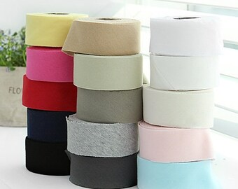 KNIT Bias TapeS, 7 Yard, Double Sided Cotton Knit