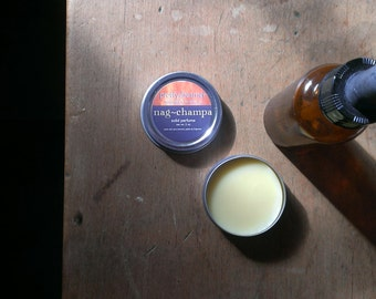 nag champa : solid perfume / fragrance