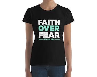 Bible Verses Shirt Faith Over Fear Psalm 118:6 Im Not Afraid