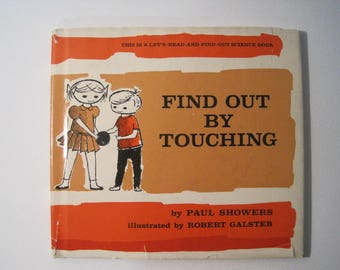 Find Out by Touching by Paul Flowers -- rare 1961 First Edition (Thomas Y. Crowell)