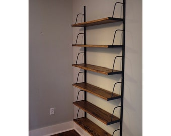 Custom Wall Mounted Bookshelf