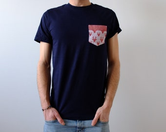 Handmade T-shirt with Pocket - deer