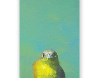 Yellow Bird Hardcover Notebook