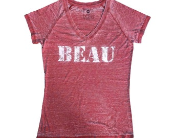 24P Women's Burnout Shirt Active Casual Trendy Vintage look Beautiful Comfortable Cool Breathable Top
