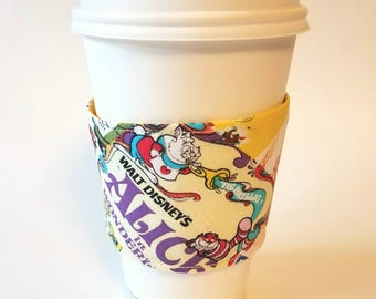 I heart Vintage Disney  - Reusable Coffee Sleeve