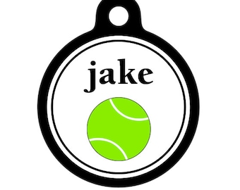 Personalized Pet ID Tag - Jake Custom Name Pet Tag, Dog Tag, Cat Tag, Luggage Tag, Child ID Tag