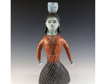 Ruth - Ceramic Sculpture by Jenny Mendes
