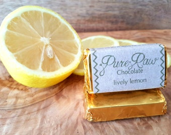 Pure Raw Chocolate - Lively Lemon